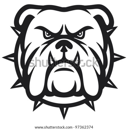 American bulldog vector - photo#28