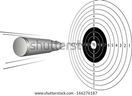 bullet on target sport