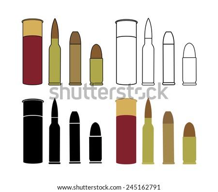 bullets game set shotgun