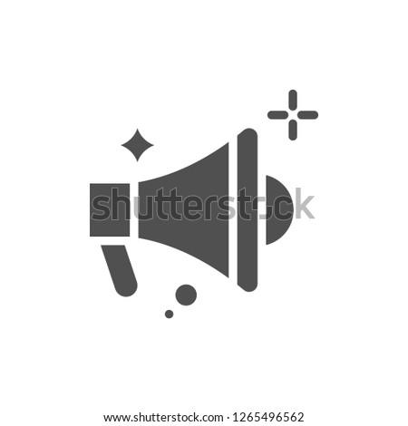 Bullhorn Vector Icon