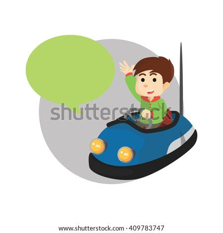 bumper car with callout