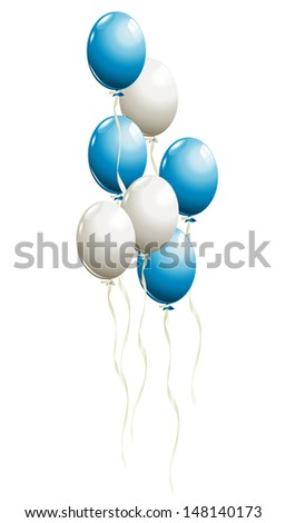bunch of balloons in