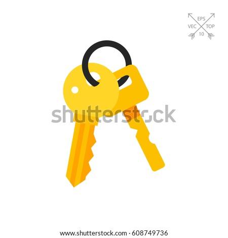 bunch of keys icon