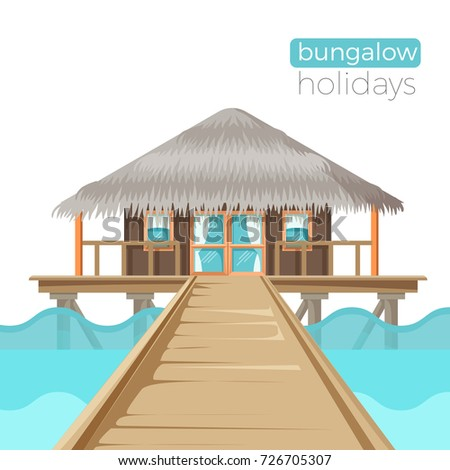 bungalow holidays advertisement