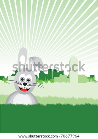 bunny background