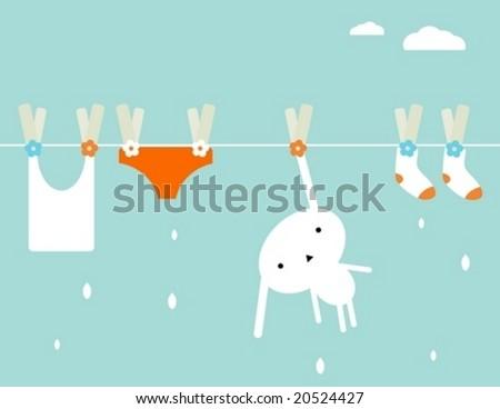 bunny laundry