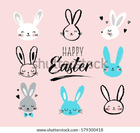 bunny  rabbits  cute characters