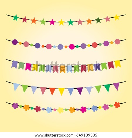 bunting for happy birthday