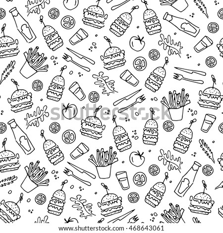Royalty Free Stock Photos And Images Burger And French Fries