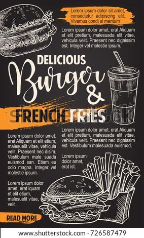 burger and fries menu fast food