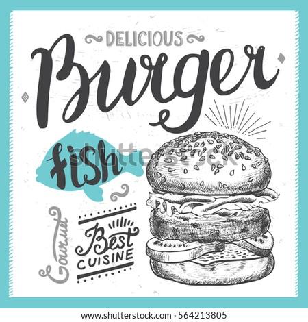 burger food element for...