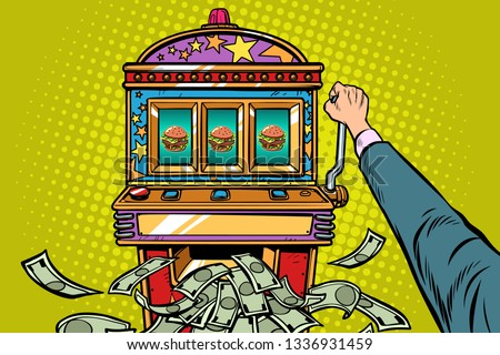 burger prize slot machine pop