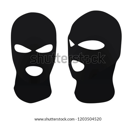 Burglar Hat Vector Illustration