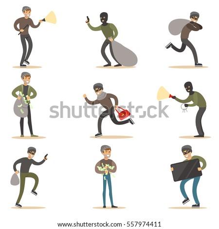 burglars  muggers and thieves
