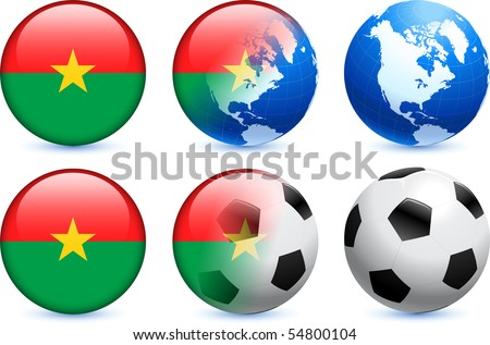 graphics burkina faso flag