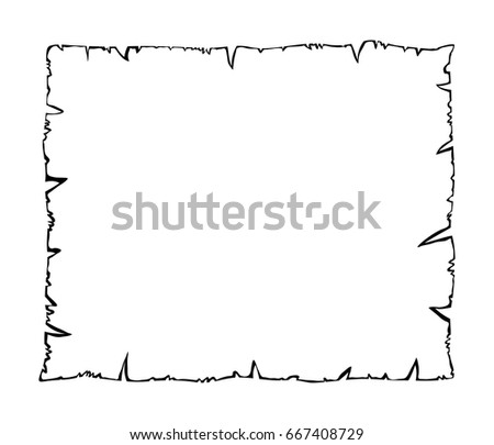 burned old paper  parchment