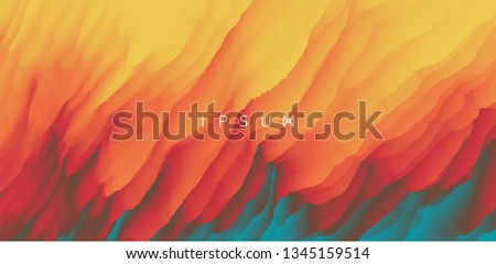 Burning fire flames. Abstract background. Modern pattern. Vector illustration for design. Foto stock ©