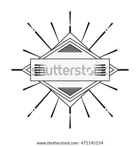 burst frame isolated background vector illustration design