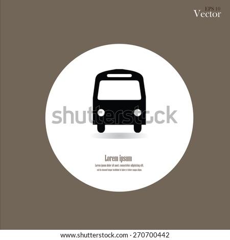 Bus icon.bus.bus icon vector.vector illustration.