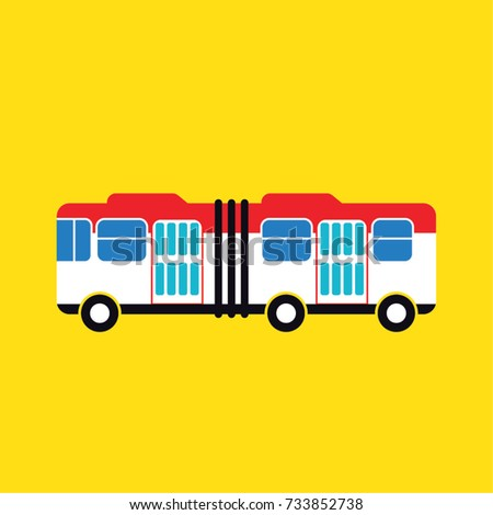 loading hanger bus icon vector
