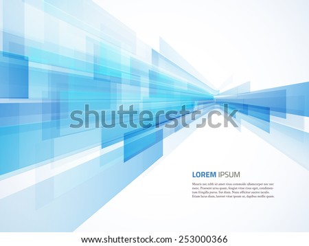 business abstract blue
