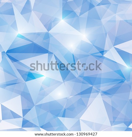 Business Abstract  Design Template. Vector Shiny Background made with Triangles. Low poly style background.
