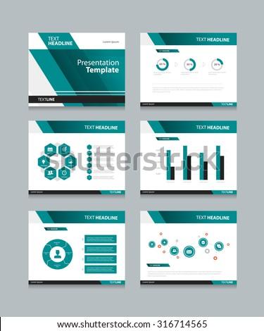 royalty-free vector template presentation slides… #314816714 stock, Presentation templates