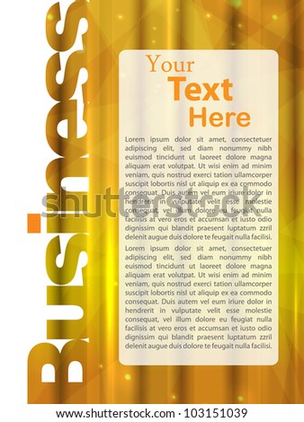 business abstract template. vector illustration