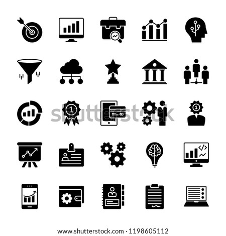 Business Analytics Icons Pack