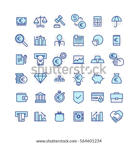 Business and Finance Icons #564601234