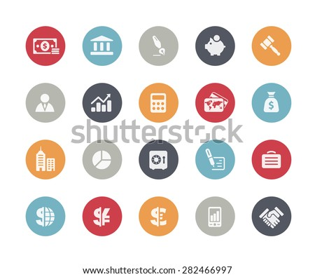 Business and Finance Icons // Classics Series - Shutterstock ID 282466997
