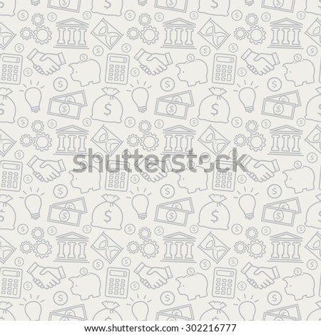 stock-vector-business-and-finance-seamless-pattern-background-with-outline-icons-for-business-theme-vector