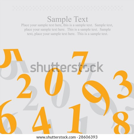 Business and Finance Template - stock vector