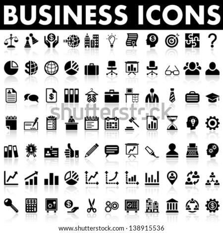 Business and Management Icons