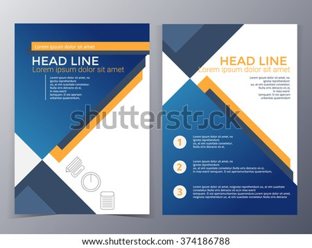Royaltyfree Brochure Template Design Vectorflyer - Technology brochure template