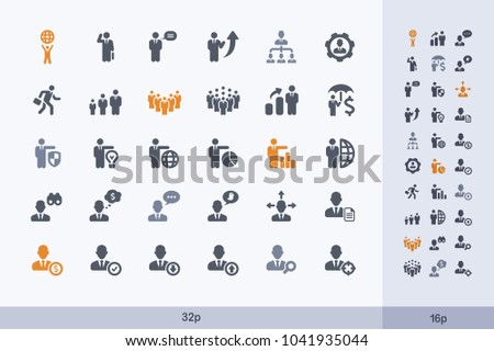 Business Avatars - Carbon Icons