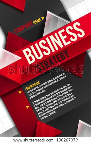 Business background. Layer template