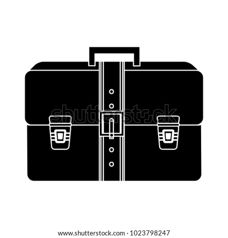 business briefcase flat icon