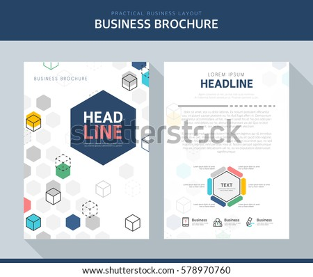 Business Brochure Illustration