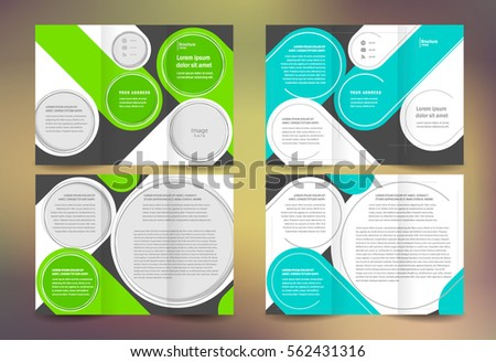 business brochure set design