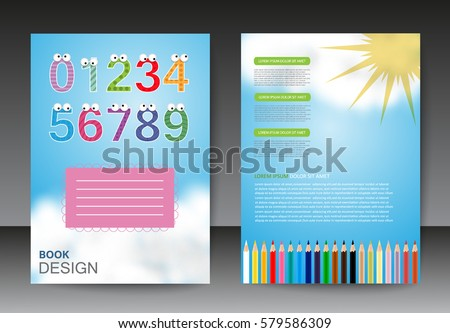 Business brochure template.