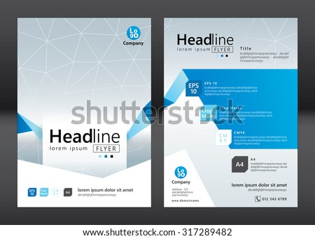 Business Brochure Template Presentation Download Free Vector Art - Template for brochure