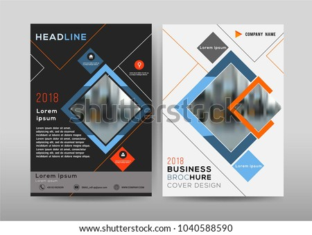 brochure template layout booklet cover design download free vector