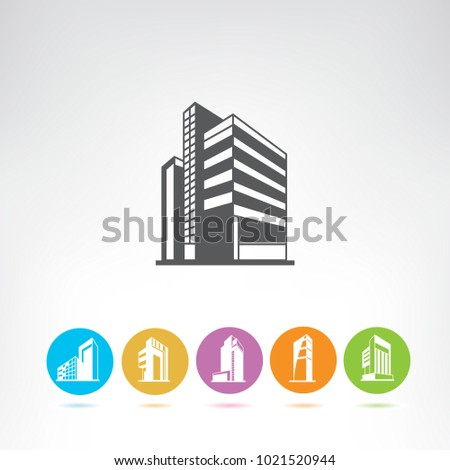 business building icons