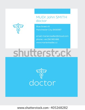 Business Card of Doctor
