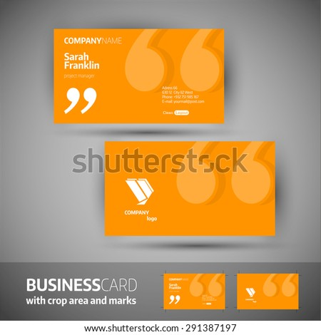 royalty free business card design set template for 436860823