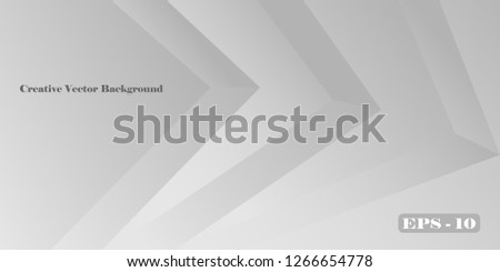 Business card. The basis for business cards and flyers of geometric gradient shapes. Gradient stripes background. Vector graphics