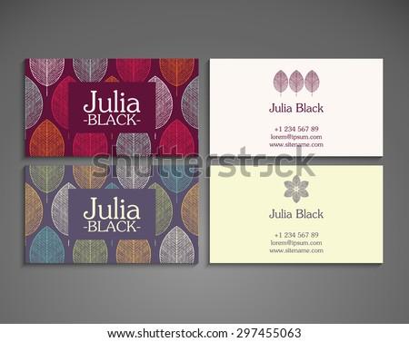 Business Card. Vintage decorative elements. Ornamental floral business cards, oriental pattern, vector illustration.  Islam, Arabic, Indian, turkish, pakistan, chinese, ottoman motifs.