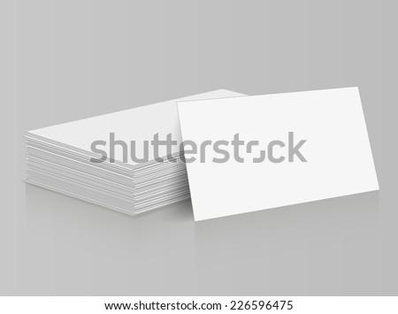 blank business card mockup presentation design - Download Free ...