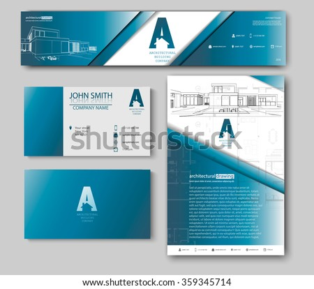 Business cards design with blueprint sketch for architectural business cards design with blueprint sketch for architectural company architectural background for architectural project architectural brochure malvernweather Choice Image